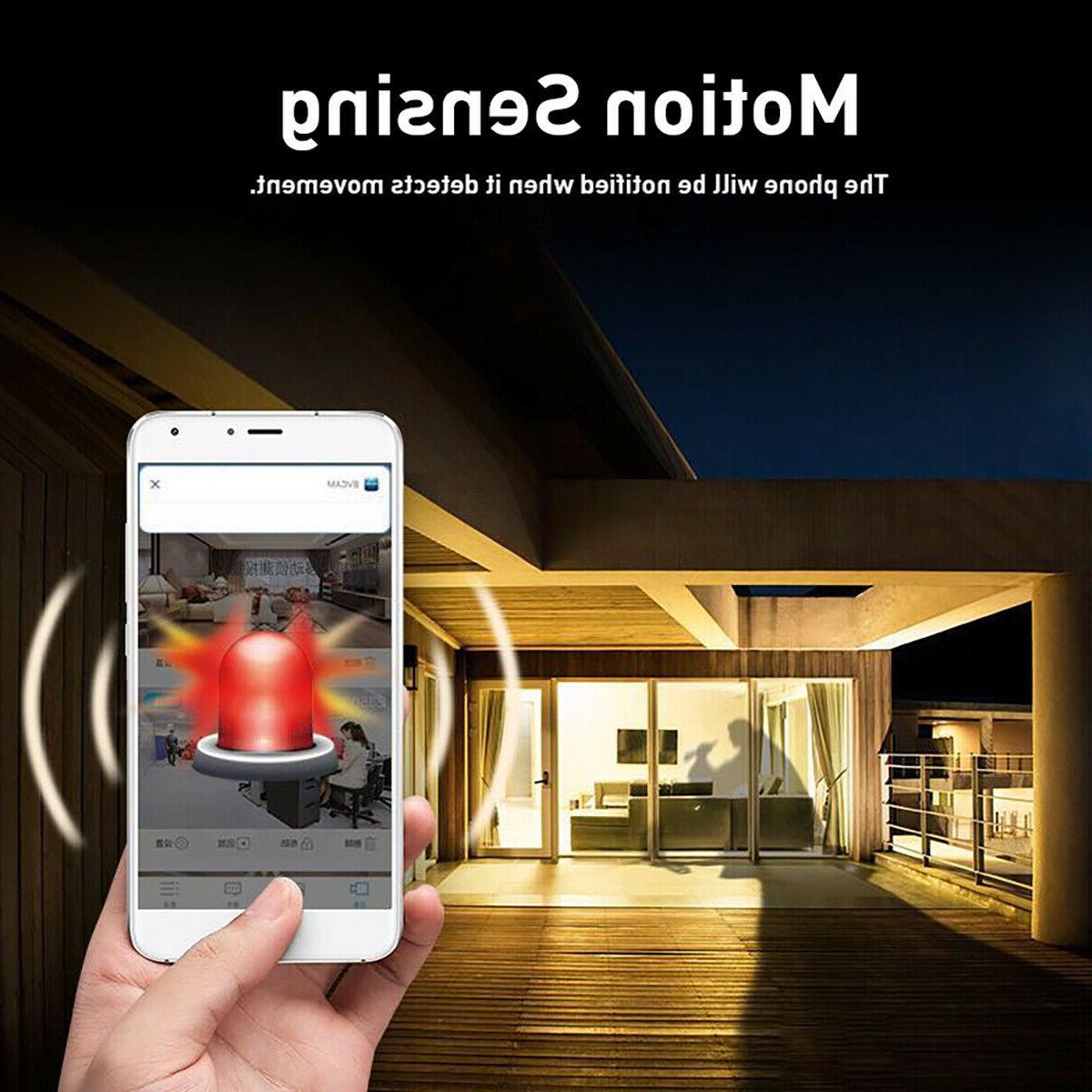 Mini Camera Wireless Wifi IP Home Security Night HD