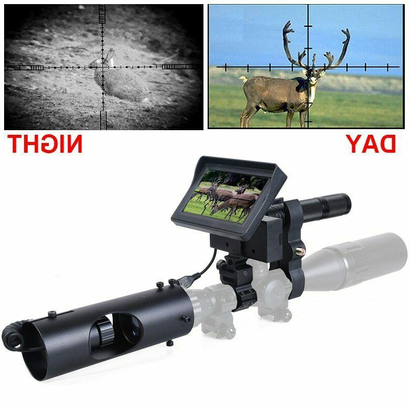 hunting night vision for rifle scope camera