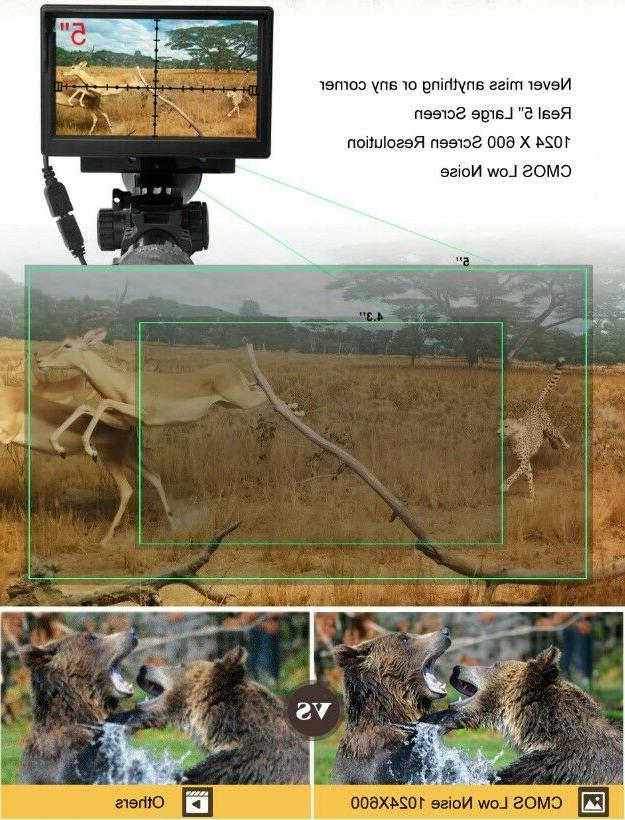 Hunting Scope Night Display Distance Point