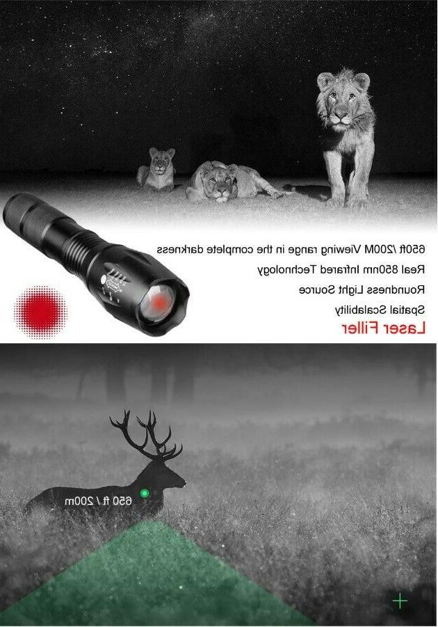 Hunting Scope Night Vision Display IR Distance Point