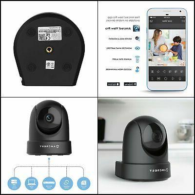 Indoor WiFi Camera, Security IP Camera w/ Pan/Tilt, Two-Way