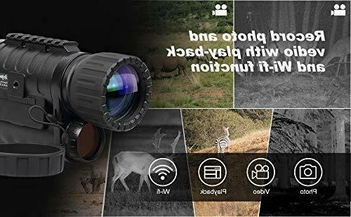 Infrared HD Monocular Plus,6-30X50MM
