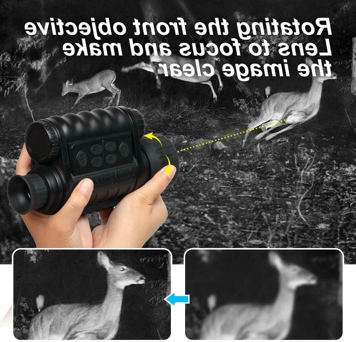 Infrared Night Monocular WiFi,Bestguarder Plus,6-30X50MM Sm