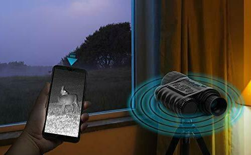 Infrared HD Monocular with WiFi,Bestguarder Plus,6-30X50MM Sm