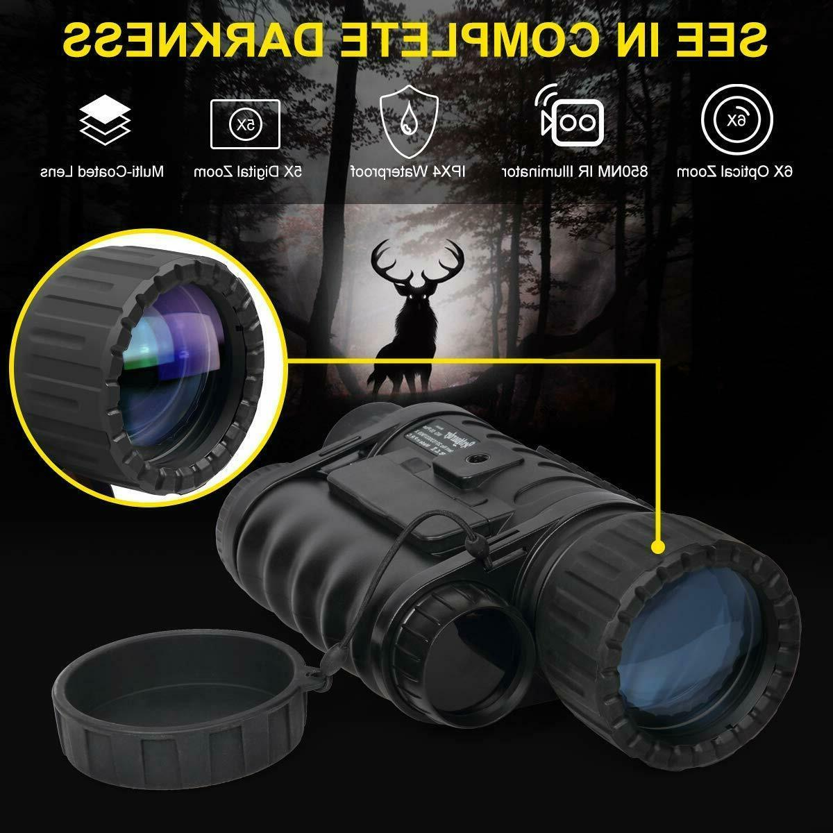 Infrared HD Night Vision Monocular WiFi,Bestguarder Plus,6-30X50MM Sm