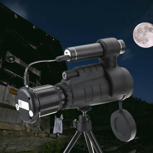NEW Portable Monocular Night Vision Telescope Infrared IR HD
