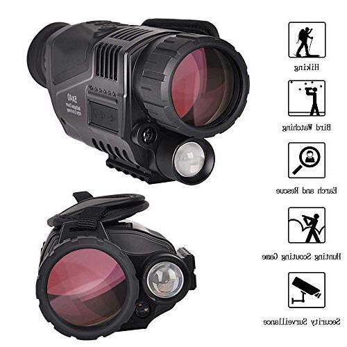 5x40mm Digital Vision-HD Camera&Camcorder Take and Videos Up 350m/1150ft Detection a Battery