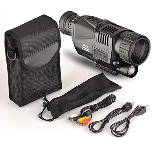5x40mm Night Vision-HD with 1.5 Inch TFT LCD and Camera&Camcorder Function and Up to 350m/1150ft a