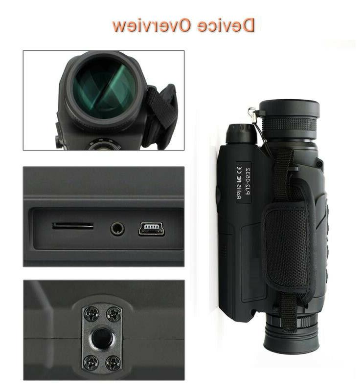 Infrared Monocular security and outdoors