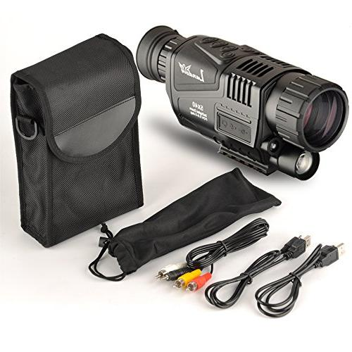 Landove 5x40mm HD Digital Vision with 1.5 inch LCD & Camcorder Function Takes and 350m/1150ft night