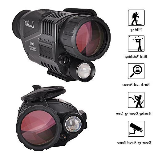 Landove Digital Vision with 1.5 inch LCD & Camcorder Function Photo and 350m/1150ft Detection Distance night watching