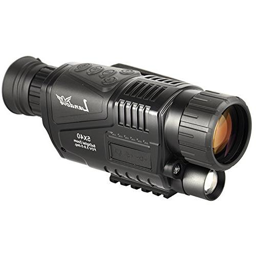 Landove 5x40mm Digital Vision with 1.5 inch LCD and Camcorder and 350m/1150ft Distance night