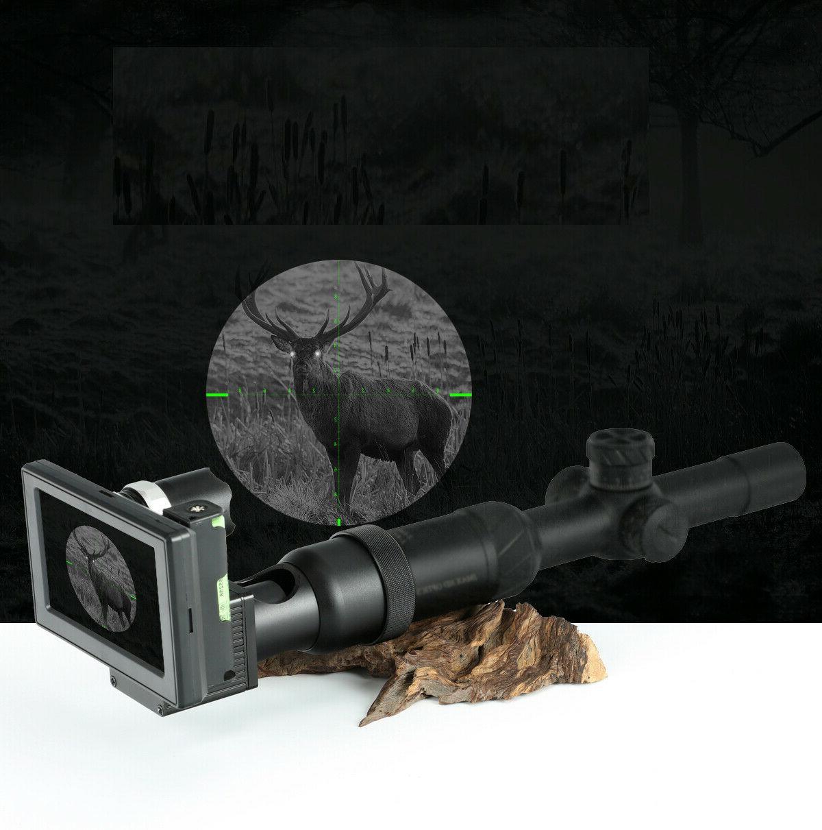 infrared night vision set sight rifle scope