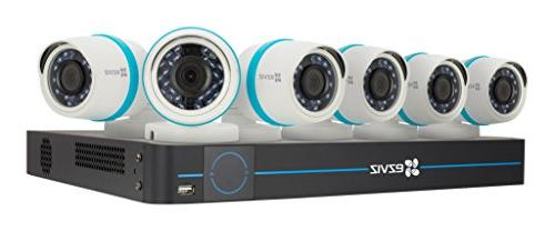EZVIZ 8 Channel 1080p HD IP NVR Security System 2TB 6 Bullet