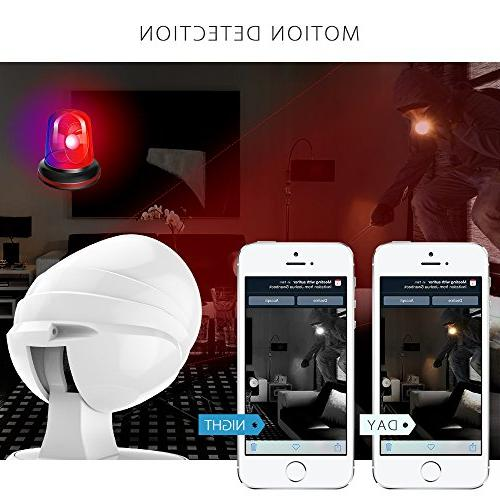 Wireless Security ,Besteker Wifi Surveillance with Vision,2 way Audio