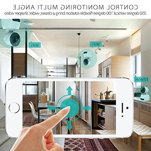 Wireless Security IP ,Besteker Home Wifi Surveillance Baby Monitor with Motion Vision,2