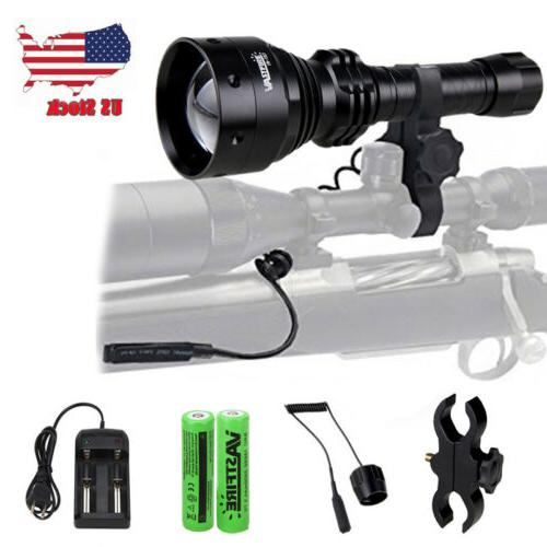 Long Range Infrared Illuminator Flashlight Hunt