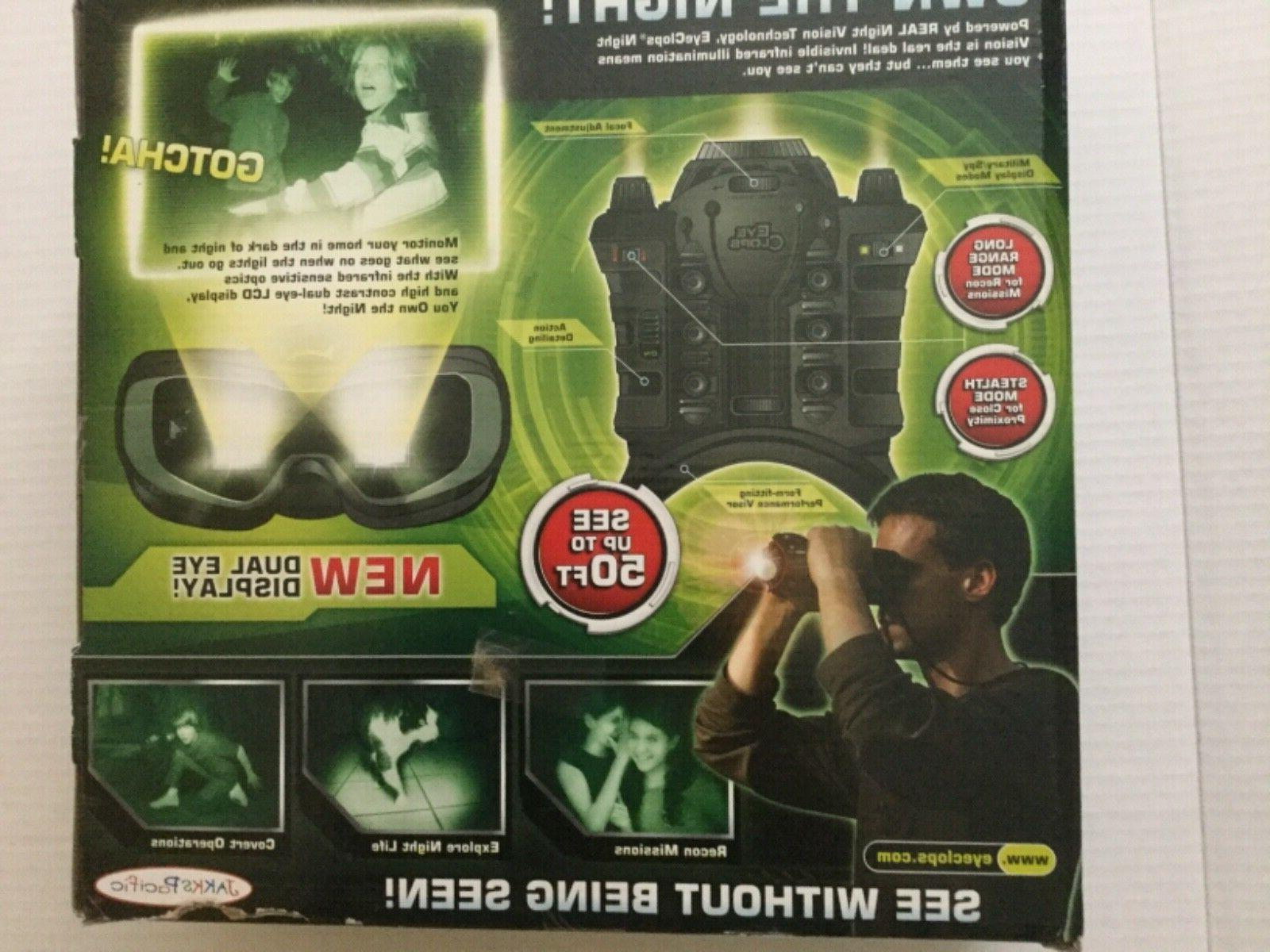 Jakks Eye Night Vision Stealth Goggles Binoculars - New