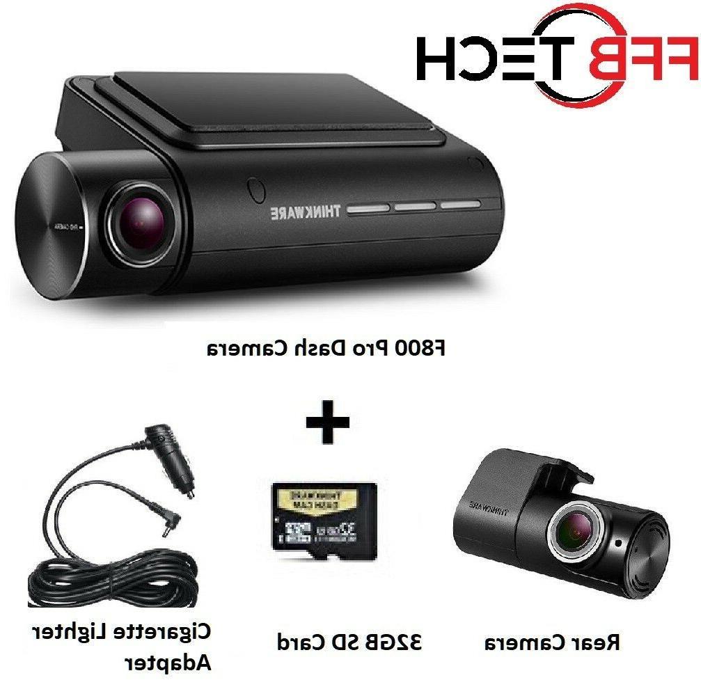 Thinkware F800 PRO KIT 2CH 32GB HD  WIFI GPS Night Vision+Re