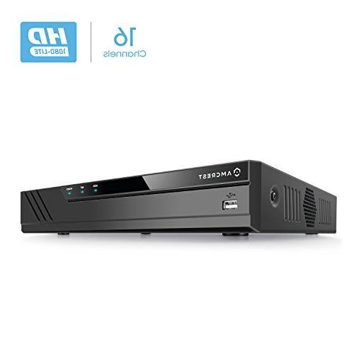 Amcrest 1080-Lite 16CH DVR Video Security Recorder, ProHD Pe