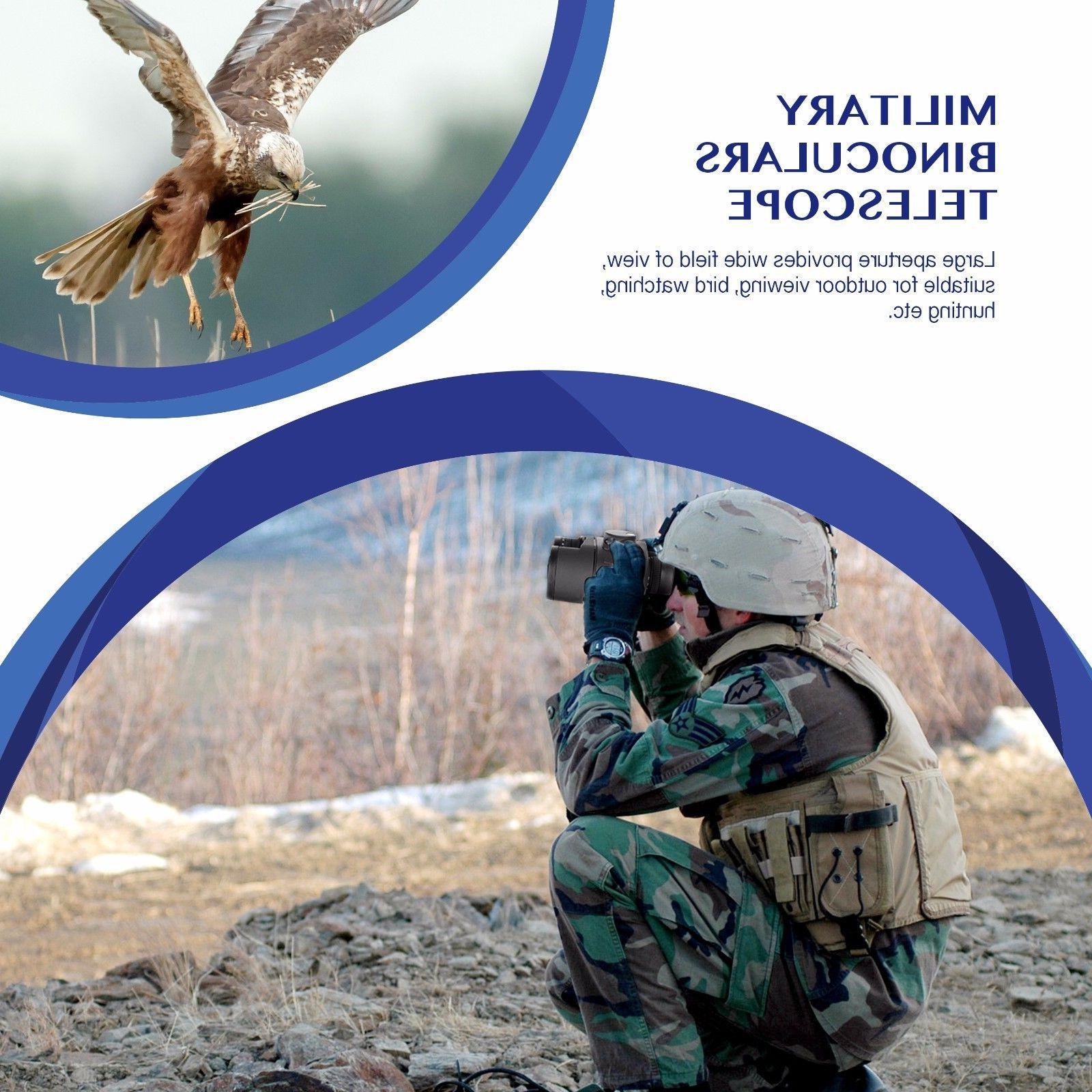 10X50 Binoculars night vision Rangefinder Compass
