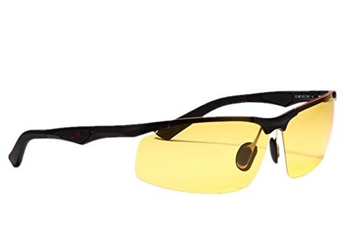 men yellow night view vision