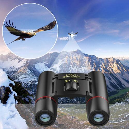 Mini Binoculars 30x60Zoom Hunt Folding Telescope
