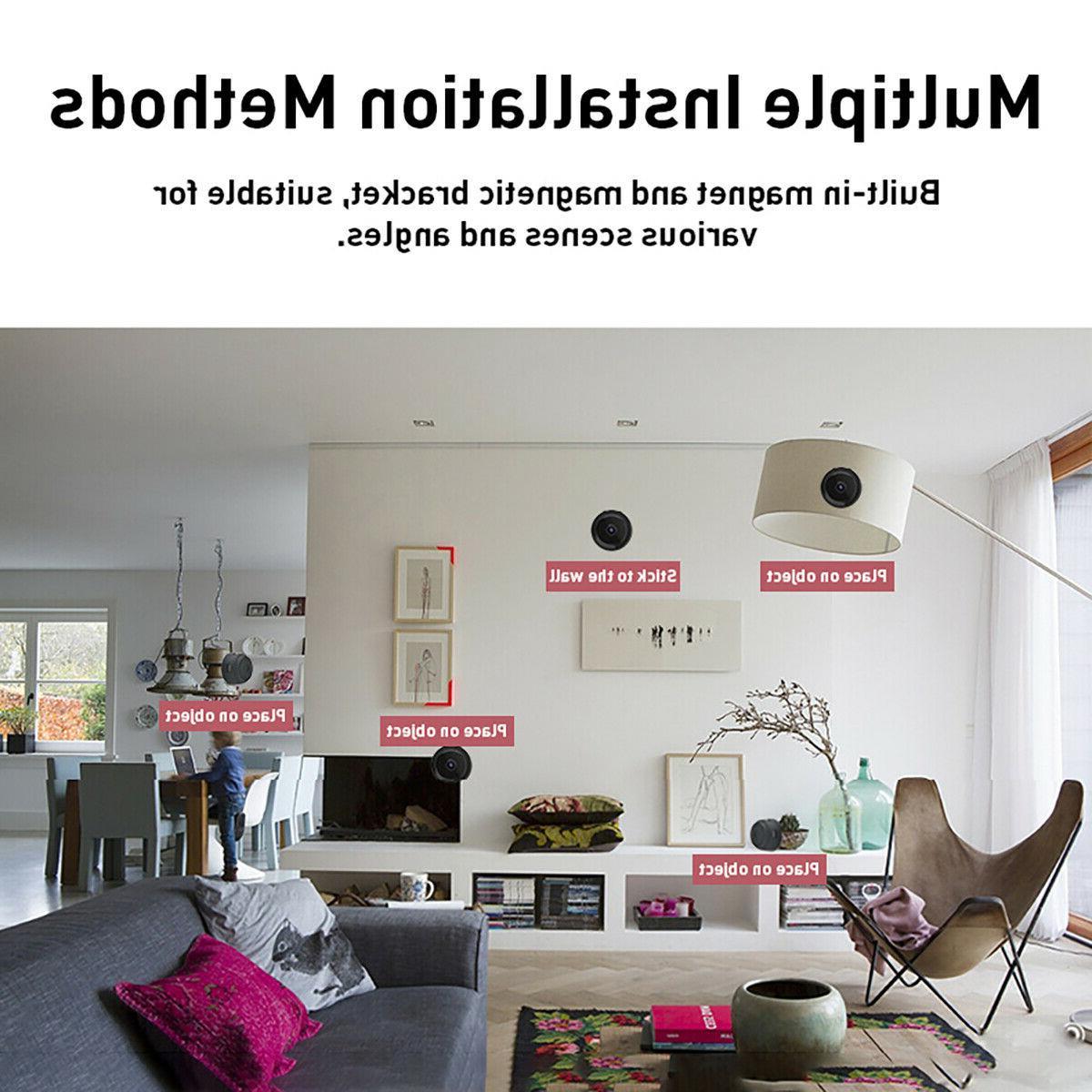 Mini Hidden Wireless IP Home Security HD 1080P