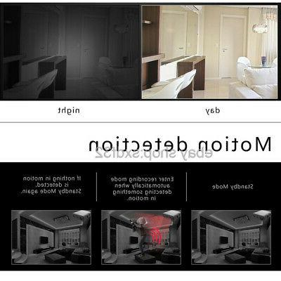 Mini Spy Hidden HD Night Vision DVR IR-CUT