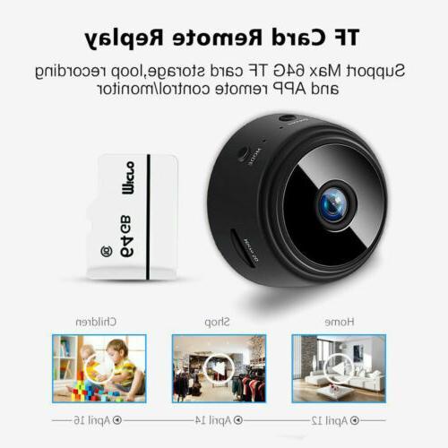 Mini Spy Wifi HD 1080P Night