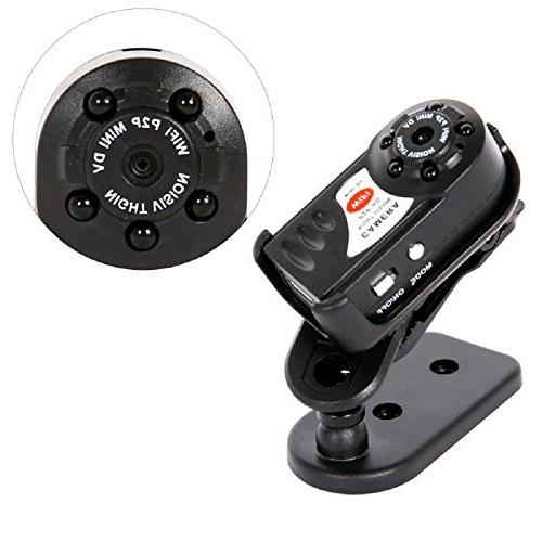 MAGENDARA Mini wifi Camera, Wireless With Infrared Vision Wireless DVR