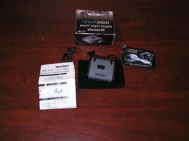 miniaura digital night vision monocular nv 200