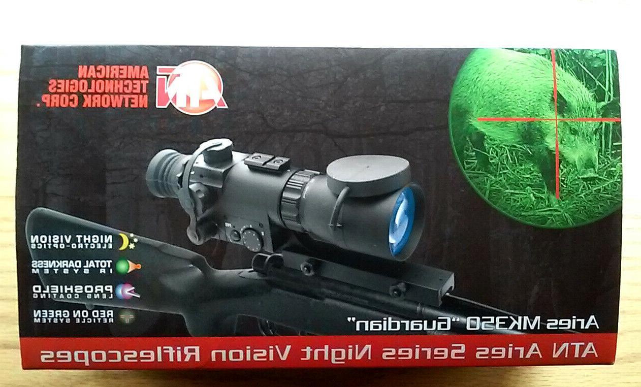 mk350 guardian night vision rifle scope new