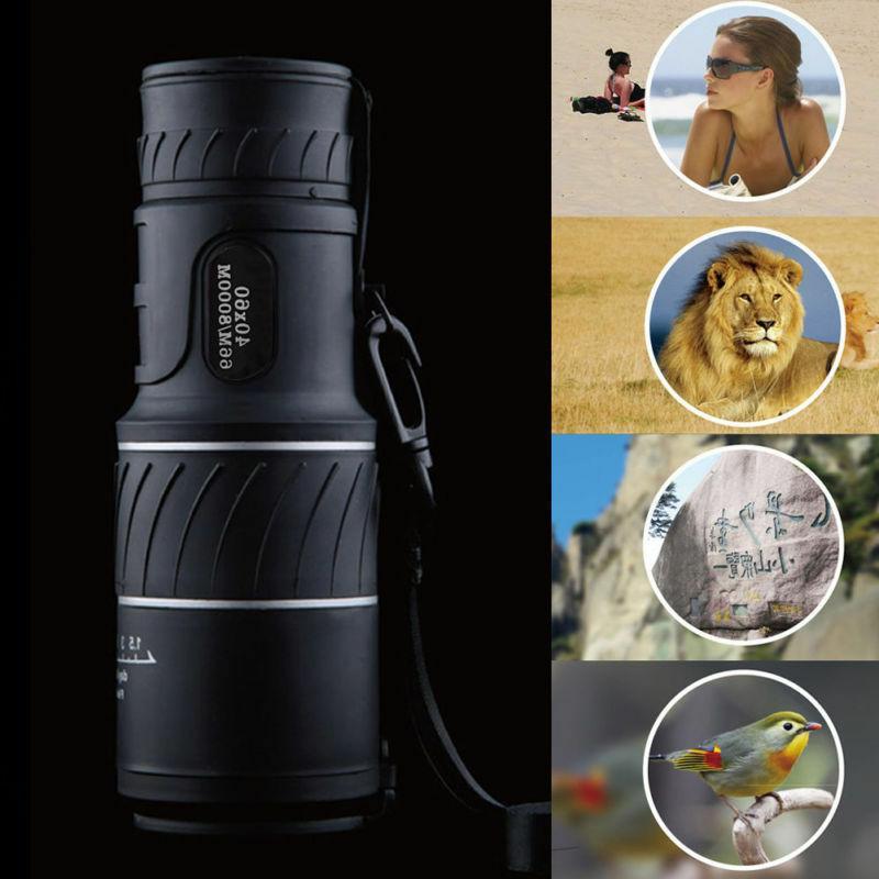 Monocular 40x60 Zoom HD Low Vision Binoculars US