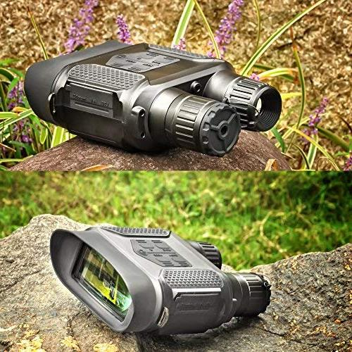 Night Infrared Hunting Binoculars with Viewing Screen Can Take or Night 640p Video