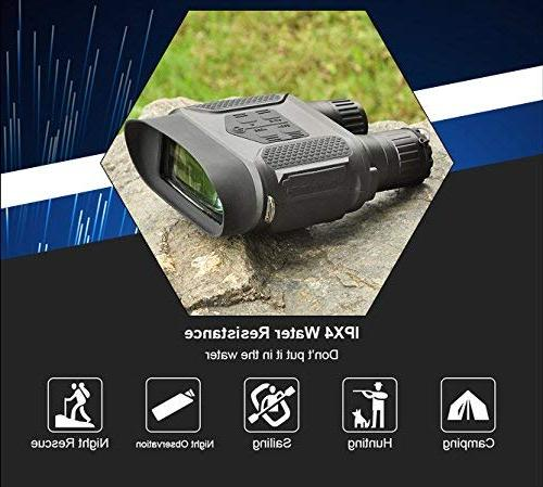 Night Vision Infrared Night Vision Binoculars Large Screen Take Day or Photos 640p Video