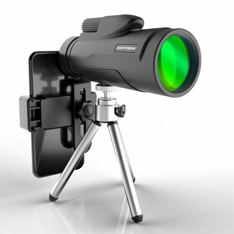 monocular telescope 12x50 night vision hunting camping