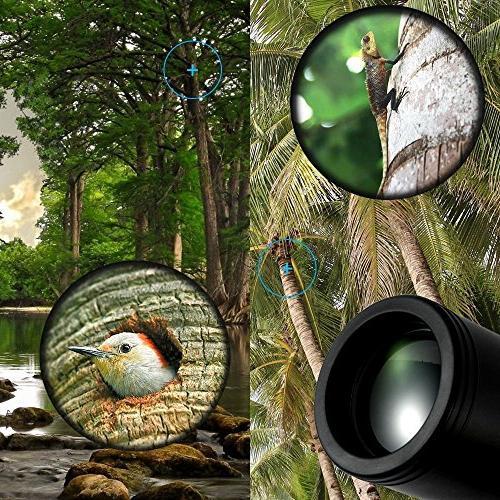 Monocular Telescope, Focus Prism Tripod Capable, Low Night for Birdwatching/ Hiking Golf/ Surveillance