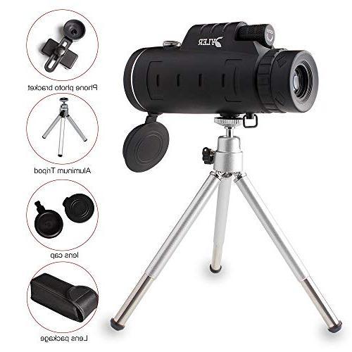 Monocular Telescope, Dual - Night - Lens - Clip - for Camping, wildlife