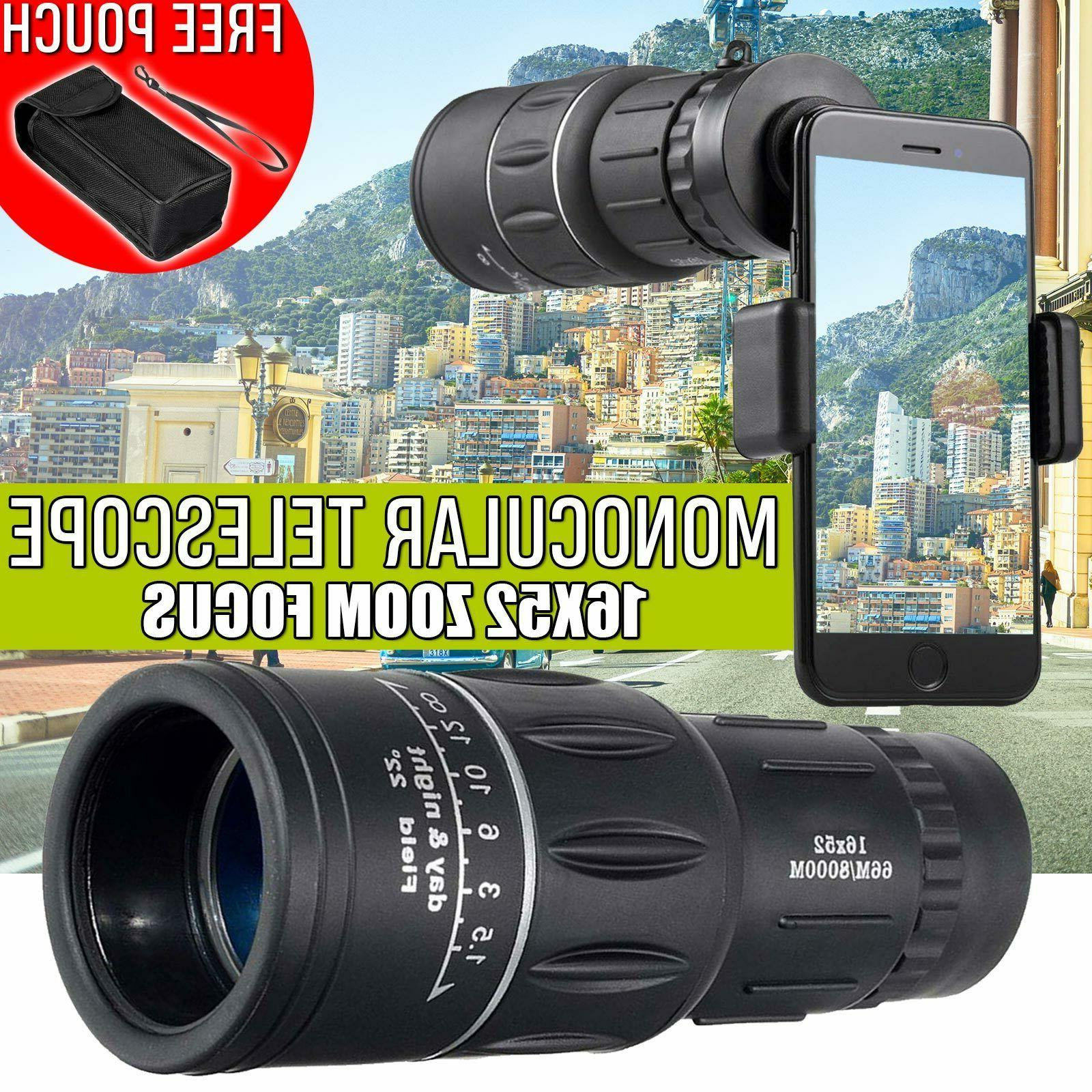 new day night vision 16x52 hd optical