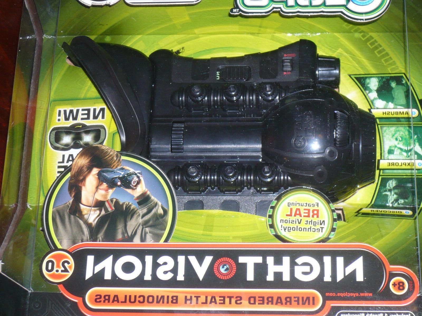 NEW! Jakks Pacific Clops Infrared Stealth Binoculars