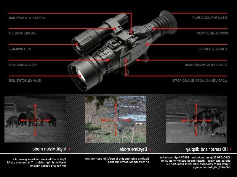 new wraith hd 4 32x50 digital day