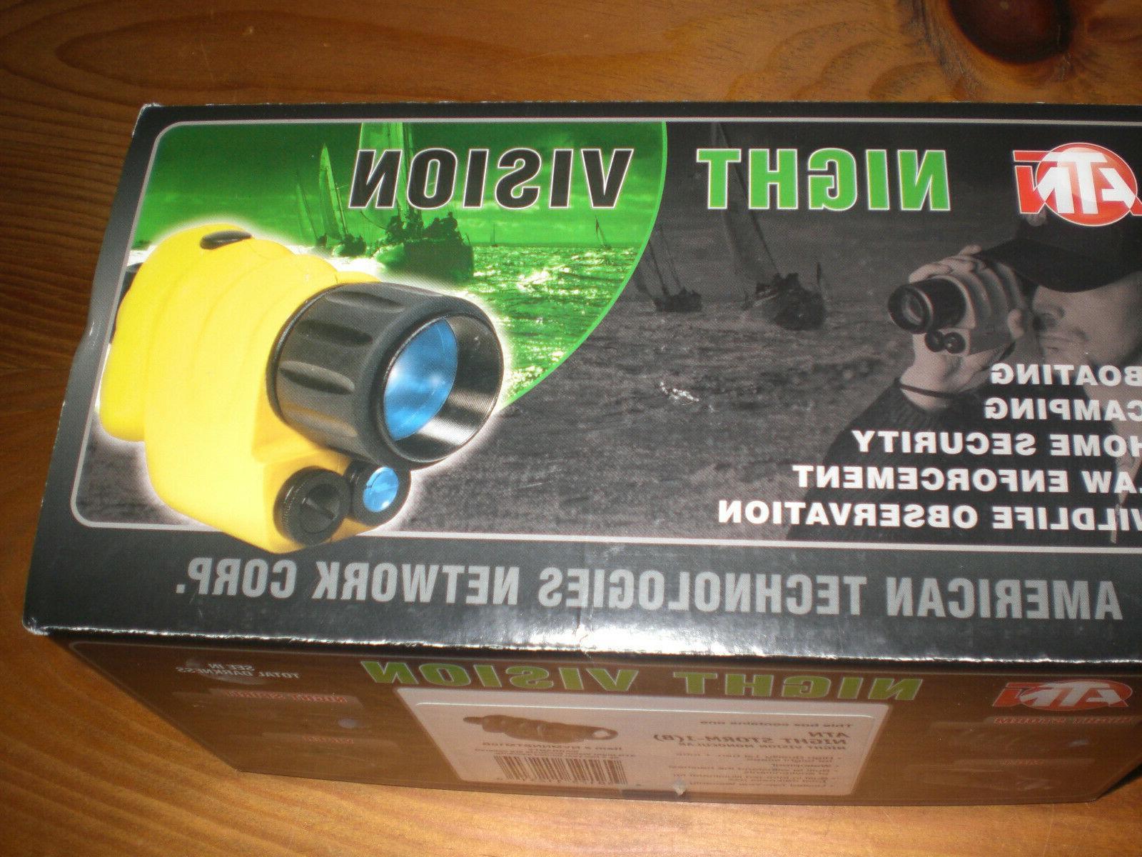 ATN STORM 3.5 x 50mm NIGHT MONOCULAR