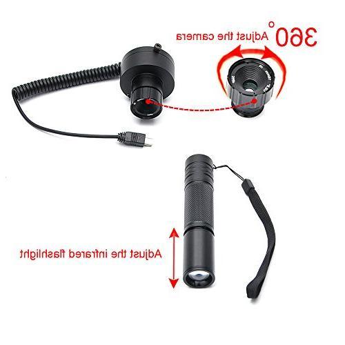 Digital Vision Riflescope CCD Flashlight