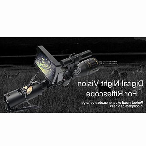 Digital Night Riflescope Flashlight