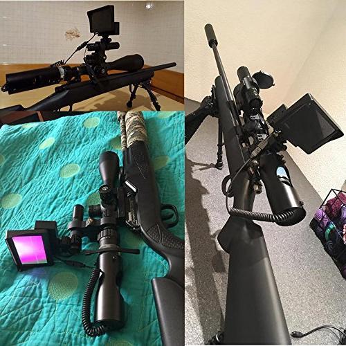 Digital Night Riflescope with CCD Flashlight Outdoor