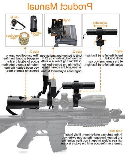 Riflescope Flashlight Outdoor Hunting
