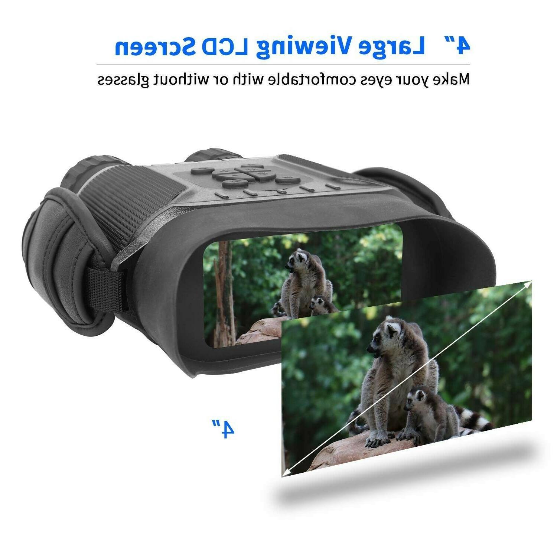 Bestguarder Night Vision Binocular HD Video Recorder & Picture