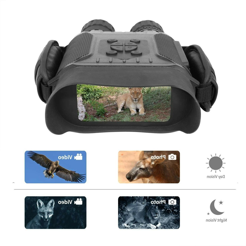 night vision binocular hd video recorder