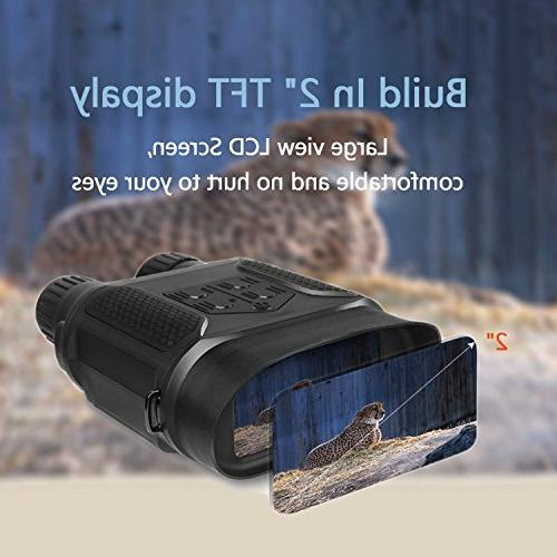"""Astromania Night / Vision Scope 7x31 Hunting 2"""" viewing HD Camera Video Recorder Display"""